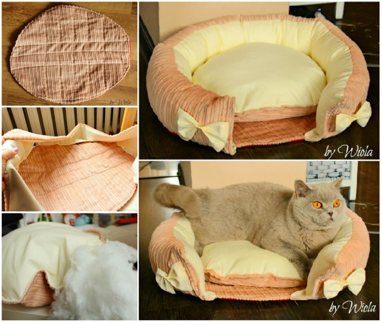 Comfy Kitty Cushion DIY Sewing Project