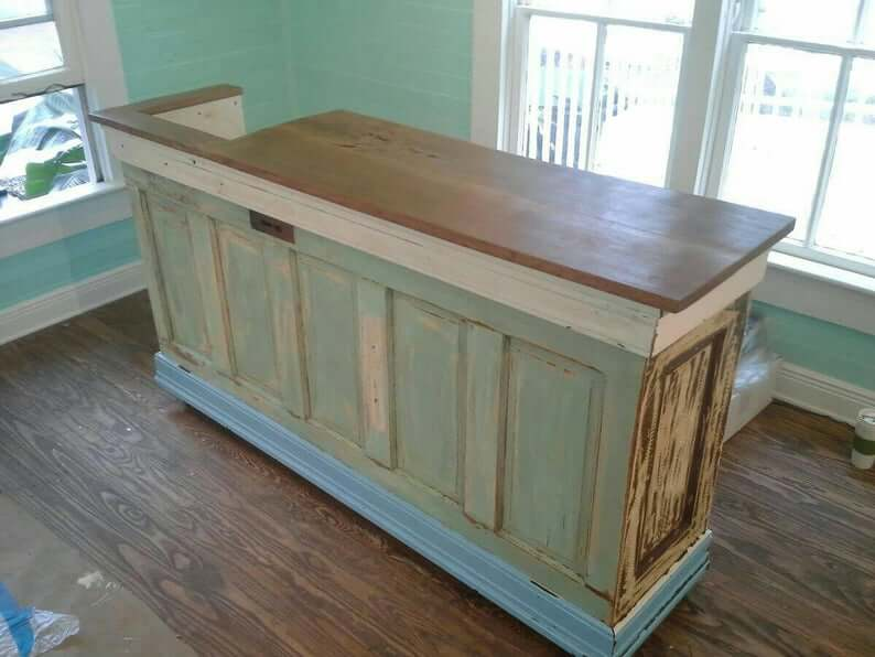 Bar or Store Counter Door Upcycle