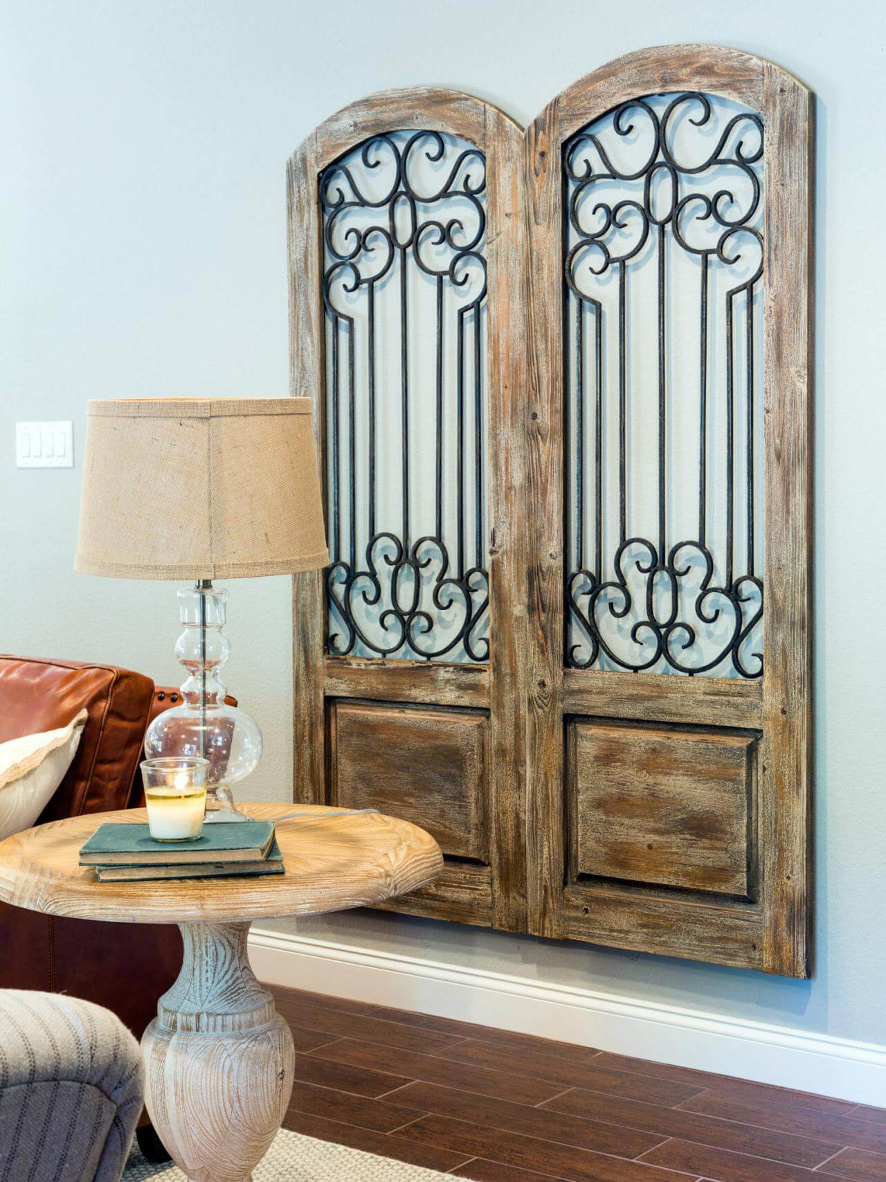 Arched Cabinet Door Wall Art